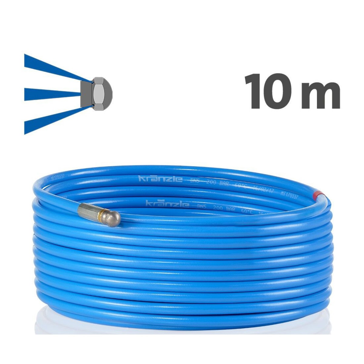 410581 - Drain Cleaning Hose 10m