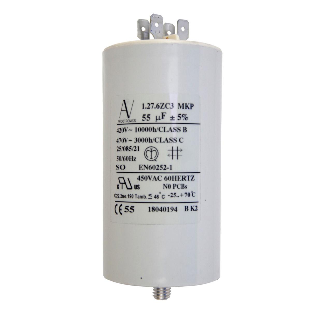 MECO40011  Capacitor 55Mf