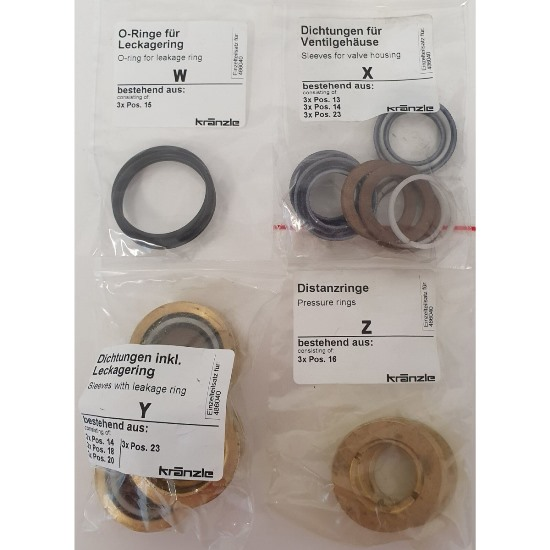 486040 - Repair Kit Water Seals for RP Pump 20mm with Brass Parts