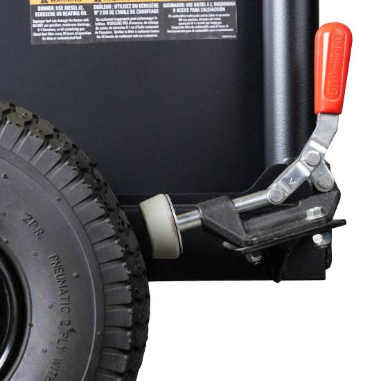 PowerShot HP4012 Petrol Driven Hot Water Pressure Cleaner