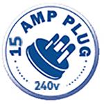 15 AMP Plug 240V