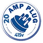 20 AMP Plug 415V