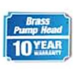 Brass Pump Head - 10 Year Warranty